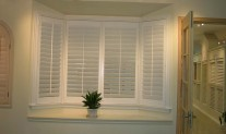 Bay Window hinged White Alltone