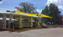 Carwash Front Sails Monotec 370 Yellow
