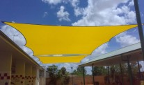 Carwash Planar Sail Monotec370 Yellow