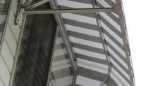 Dutch hood frame detail