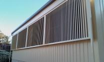 Fixed Louvres aluminium Primrose TAFE