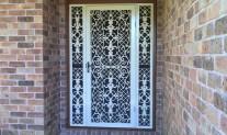 Glasson job - after Door jamb extension with SP21 door & SP22 sidelites. Forbes