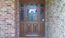 Glasson job - before door jamb extension & screen door fitted