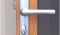 Handle brushed satin supa screen