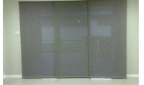 Panel blind 3 track Tuscany Ash, light filtering