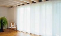 Panel blind White translucent
