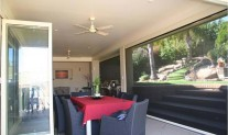 Phantom executive screen alfresco area