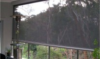 Phantom retractable screen. executive verandah