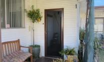 Screenguard hinged door, stainless mesh, Hammersley Brown, 3 point lock.