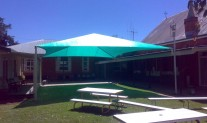 Shade Structure, Rainbow Shade Z16 Meadow Green