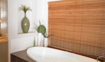 Timber venetian bathroom 50mm