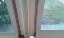 straight drop awning, side zipper, double sailtrack & botoom pocket